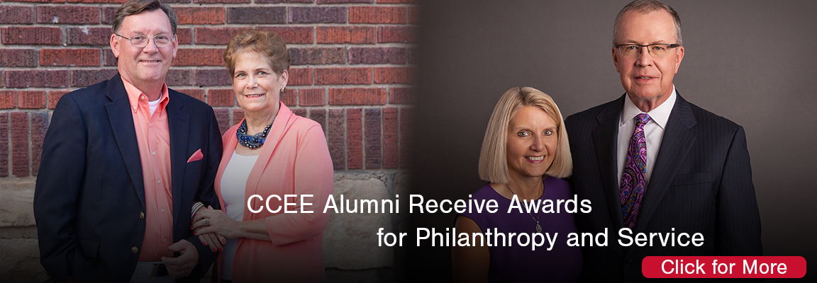 CCEE Alumni Receive Order of the Knoll Awards for Philanthropy, Service