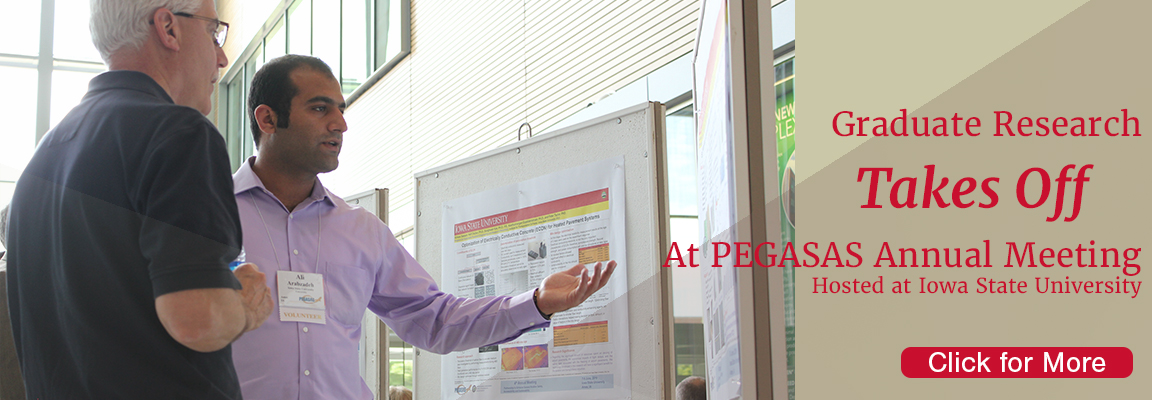 CCEE Graduate Research Takes Off at PEGASAS Annual Meeting at ISU