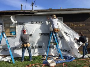 AGC members complete siding projects for homeowners