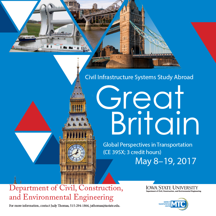 Great Britain Study Abroad-Civil Infrastructures
