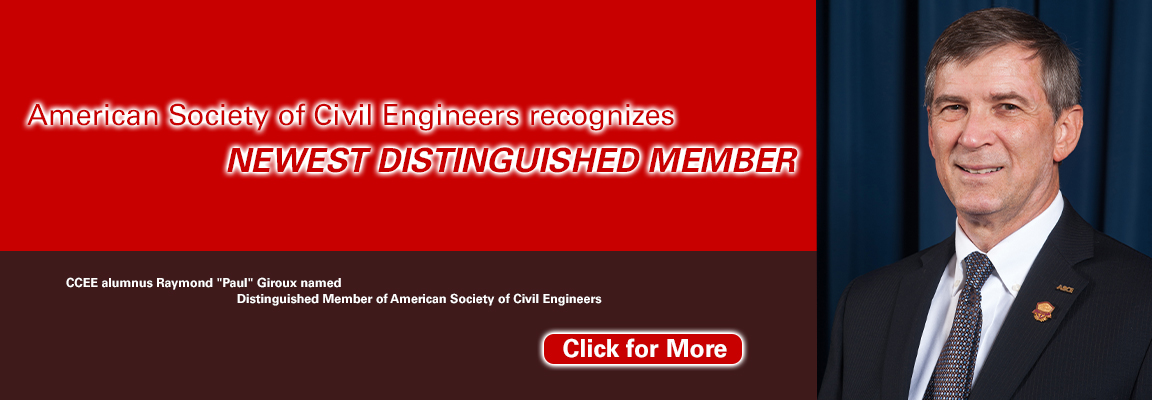 Paul Giroux ASCE Distinguished Member Banner