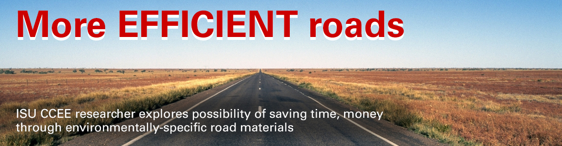 More efficient roads