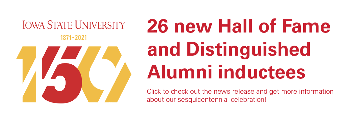26 new hall of fame and distinguished alumni inductees. Click the image to be redirected to the story!